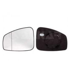 Spätné Zrkadlo Renault Megane 3 - Spätné zrkadlo Renault Megane 3 - Ľavé sklo zrkadla s pl. držiakom, asferické, vyhrievané - A6471232