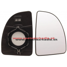 Spätné Zrkadlo Citroen Jumper - Ľavé sklo zrkadla s pl. držiakom, konvexné - A6401922