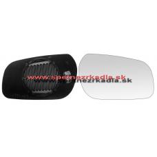 Spätné Zrkadlo Citroen Xsara Break - Pravé sklo zrkdala s pl. držiakom, konvexné - A6402363