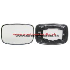 Spätné Zrkadlo Ford Fiesta - Ľavé sklo zrkadla s pl. držiakom, konvexné - A6401386