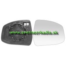 Spätné Zrkadlo Ford Mondeo IV. - Ľavé sklo zrkadla s pl. držiakom, vyhrievané, asferické - A6471376