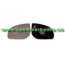 Spätné Zrkadlo Hyundai i10 - Ľavé sklo zrkadla s pl. držiakom, konvexné 01/11- - A6401618