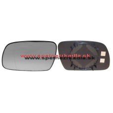 Spätné Zrkadlo Peugeot 307 - Ľavé sklo zrkadla s pl. držiakom, asferické - A6451307