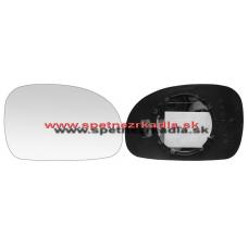 Spätné Zrkadlo Peugeot 406 Break - Ľavé sklo zrkadla s pl. držiakom, asferické - 04/99 - A6451299
