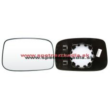 Spätné Zrkadlo Peugeot 807 - Ľavé sklo zrkadla s pl. držiakom, vyhrievané, konvexné - A6431854