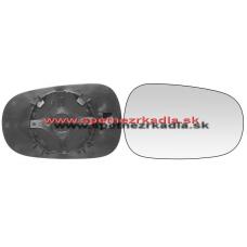 Spätné Zrkadlo Renault Clio I. - Ľavé sklo zrkadla s pl. držiakom, konvexné 04/94 - - A6404164