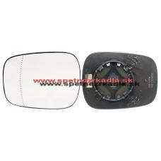 Spätné Zrkadlo Renault Kangoo I. - Ľavé sklo zrkadla s pl. držiakom, vyhrievané, konvexné 05/03 - - A6433174