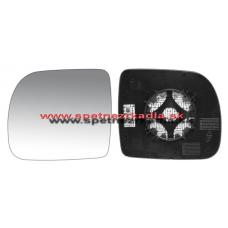Spätné Zrkadlo Renault Kangoo I. - Ľavé sklo zrkadla s pl. držiakom, konvexné - 04/03 - A6401156