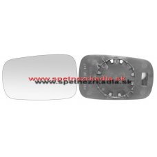 Spätné Zrkadlo Renault Laguna II. - Ľavé sklo zrkadla s pl. držiakom, asferické - 04/05 - A6451229