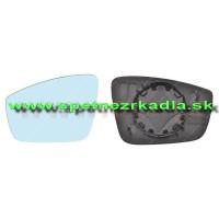 Spätné Zrkadlo Škoda  Rapid - Spätné zrkadlo Škoda Rapid - Ľavé sklo zrkadla, originál - 5JA857521C