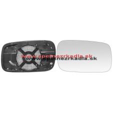 Spätné Zrkadlo Volkswagen Caddy I. - Ľavé sklo zrkadla s pl. držiakom, asferické - A6451154