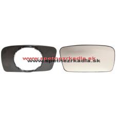 Spätné Zrkadlo Volkswagen Golf II. - Ľavé sklo zrkadla s pl. držiakom, manuálne ovládanie - A6401120