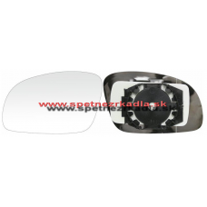 Spätné Zrkadlo Volkswagen New Beetle - Ľavé sklo zrkadla s pl. držiakom, asferické 01/02 - - 42.70.217