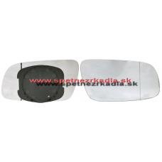Spätné Zrkadlo Volkswagen Sharan II. - Ľavé sklo zrkadla s pl. držiakom, asferické - A6451800