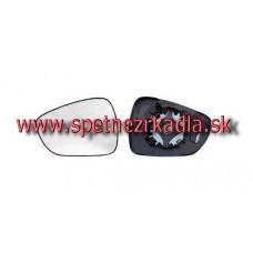 Spätné Zrkadlo Citroen DS3 - Ľavé sklo zrkadla s pl. držiakom, konvexné - 16.62.211