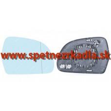 Spätné Zrkadlo Audi A5 06/07- - Ľavé sklo zrkadla s pl. držiakom, vyhrievané, asferické - 12.27.221