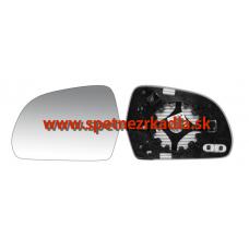 Spätné Zrkadlo Škoda Octavia Combi II. face - Spätné zrkadlo Škoda Octavia 2 - Ľavé sklo zrkadla, vyhrievané - 40.18.205