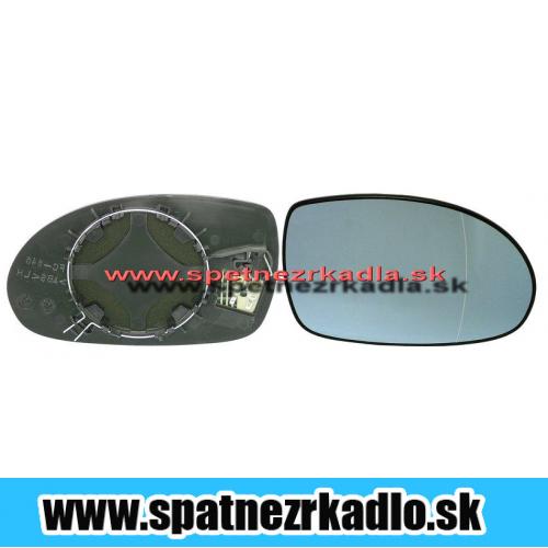 Spätné zrkadlo Citroen C5 - Pravé sklo zrkadla s pl. držiakom, vyhrievané
