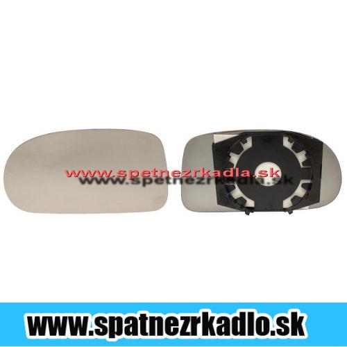 Spätné zrkadlo Fiat Brava - Ľavé sklo zrkadla s pl. držiakom, konvexné