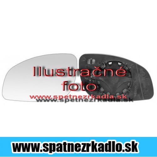 Spätné zrkadlo Fiat Punto - Ľavé sklo zrkadla s pl. držiakom