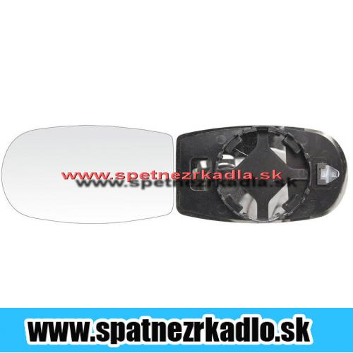 Spätné zrkadlo Fiat Punto - Ľavé sklo zrkadla s pl. držiakom, konvexné
