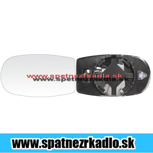 Spätné zrkadlo Fiat Punto - Ľavé sklo zrkadla s pl. držiakom, vyhrievané, asferické