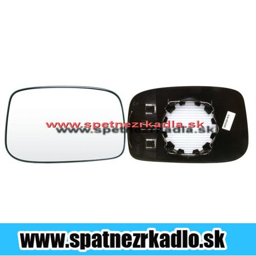 Spätné zrkadlo Fiat Ulysse - Ľavé sklo zrkadla s pl. držiakom, vyhrievané, konvexné