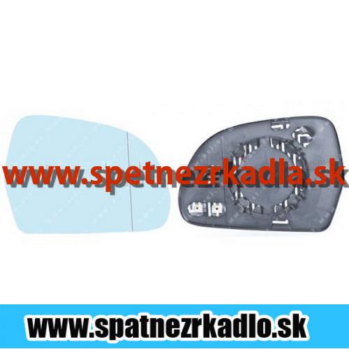 Spätné zrkadlo Audi A4 - Ľavé sklo zrkadla s pl. držiakom, vyhrievané, asferické Audi A4 11/07 - 01/12