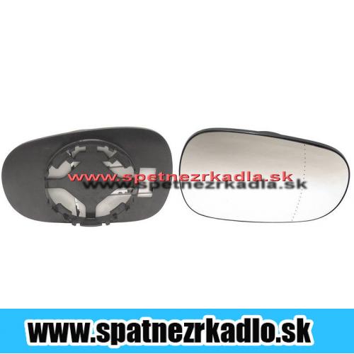 Spätné zrkadlo Renault Megane - Ľavé sklo zrkadla s pl.džiakom, asferické
