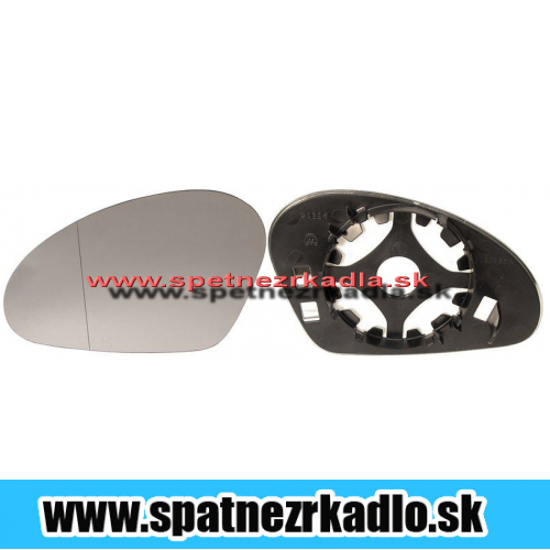 Spätné zrkadlo Seat Ibiza - Ľavé sklo zrkadla s pl. držiakom, asferické