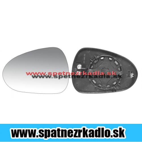 Spätné zrkadlo Seat Ibiza - Ľavé sklo zrkadla s pl. držiakom, vyhrievané, konvexné