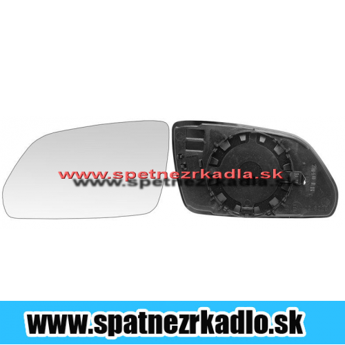 Spätné zrkadlo Škoda Octavia 2 - Ľavé sklo zrkadla, vyhrievané