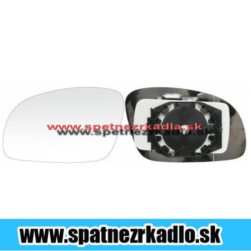 Spätné zrkadlo Volkswagen New Beetle - Ľavé sklo zrkadla s pl. držiakom, vyhrievané, asferické 01/02 -