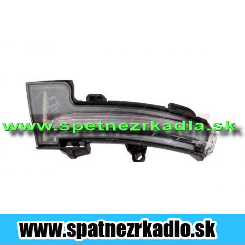 Spätné zrkadlo Škoda Octávia 3 - Blikač ľavý, originál