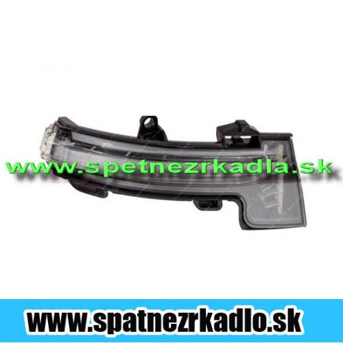 Spätné zrkadlo Škoda Octávia 3 - Blikač pravý, originál
