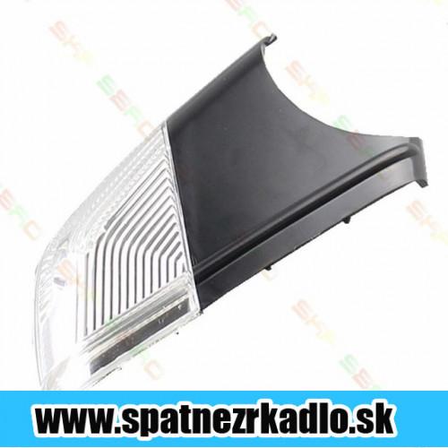 Spätné zrkadlo Škoda Octavia 2 - Spodný kryt ľavý so smerovým svetlom