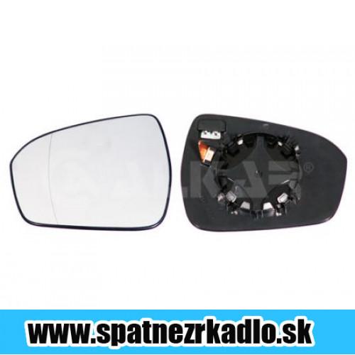 Spätné zrkadlo Ford Mondeo - Pravé sklo zrkadla s pl. držiakom, vyhrievané, asferické