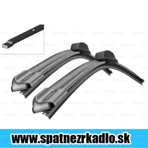 BOSCH Aerotwin 600/400 mm - 3397007116 - A116S Renault Clio 06/09 - 01/12