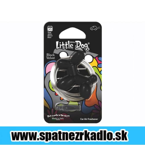 Osviežovač Little Dog Black Velvet Autokozmetika