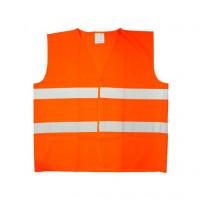 Vesta reflexná - oranžová