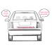 Spätné Zrkadlo Alfa Romeo 146 - Spätné zrkadlo Alfa Romeo 146 - Pravé sklom vyhrievané, kovexné - A6432470