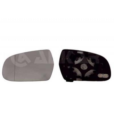 Spätné zrkadlo Audi A5 08/2011 - 08/2016 - Ľavé sklo zrkadla s pl. držiakom, vyhrievané, asferické