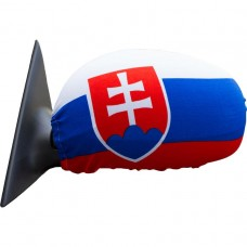 Návlek na zrkadlo - vlajka SK