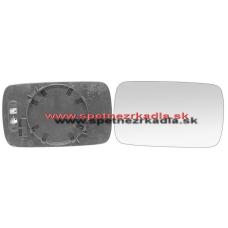 Spätné Zrkadlo BMW 3 Touring E46 - Spätné zrkadlo BMW 3 Touring E46 - Ľavé sklo zrkadla s plastovým držiakom, modré sklo - A6401485