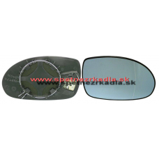 Spätné Zrkadlo Citroen C5 03/2001 - 01/2008 - Spätné zrkadlo Citroen C5 - Pravé sklo zrkadla s pl. držiakom, vyhrievané - A6426852