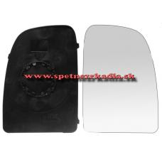Spätné Zrkadlo Fiat Ducato 2006 - 2014 - Spätné zrkadlo Fiat Ducato - Ľavé sklo zrkadla s pl. držiakom, konvexné - A6401922