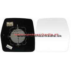 Spätné Zrkadlo Fiat Scudo - Ľavé sklo zrkadla s pl. držiakom, konvexné, manual ovl. - A6401973