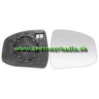 Spätné Zrkadlo  - Ľavé sklo zrkadla s pl. držiakom, vyhrievané, asferické - A6471376