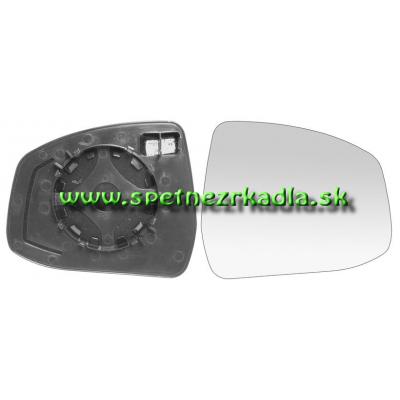 Spätné zrkadlo Ford Mondeo - Ľavé sklo zrkadla s pl. držiakom, vyhrievané, asferické