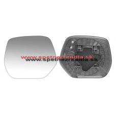 Spätné Zrkadlo Honda CRV 01/07 - 03/15 - Spätné zrkadlo Honda CRV - Ľavé sklo zrkadla s pl. držiakom, vyhrievané, konvexné - A6431939